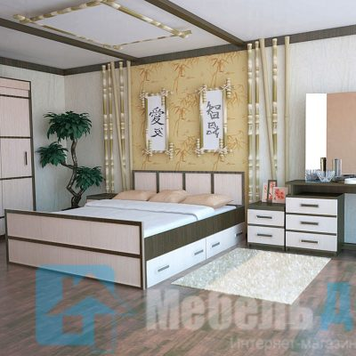 Спальня «Сакура» композиция 2 (б)