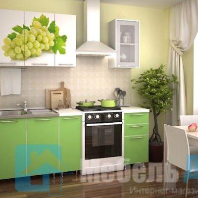 """Кухня """"Виноград"""" 1,5 м. (р)"""