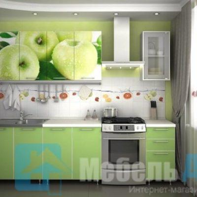 """Кухня """"Яблоко"""" 2 м. (р)"""