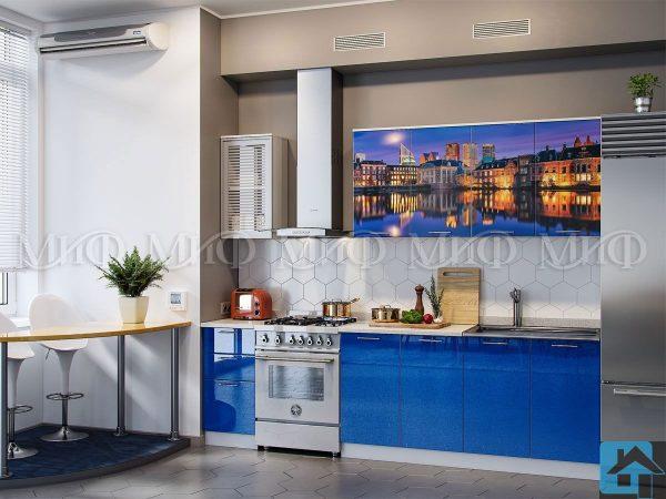 Кухня Гаага фотопечать МДФ 2 м   (м)