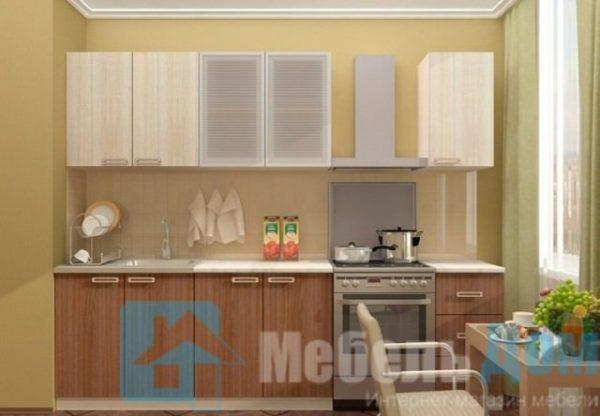 Кухня Ясень 2 м   (м)