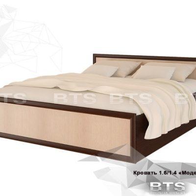 «Модерн» Кровать 1,4 м (б)