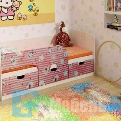 Кровать детская Минима Pink   (б)