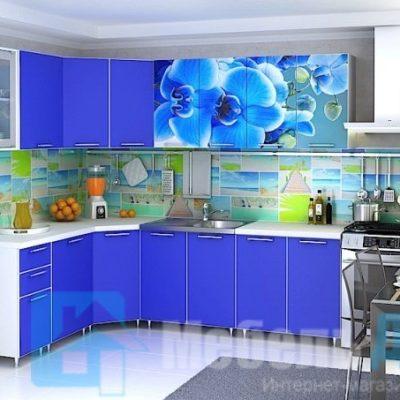 Кухня «Орхидея» угловая (р)