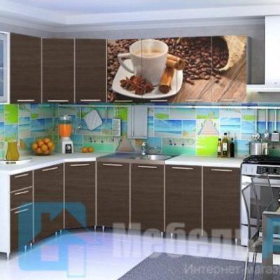 Кухня «Кофе» угловая (р)