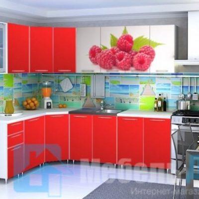 Кухня Малина угловая   (р)
