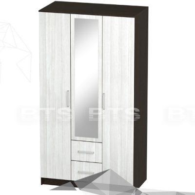 «Фиеста» Шкаф 3-х створчатый (б)