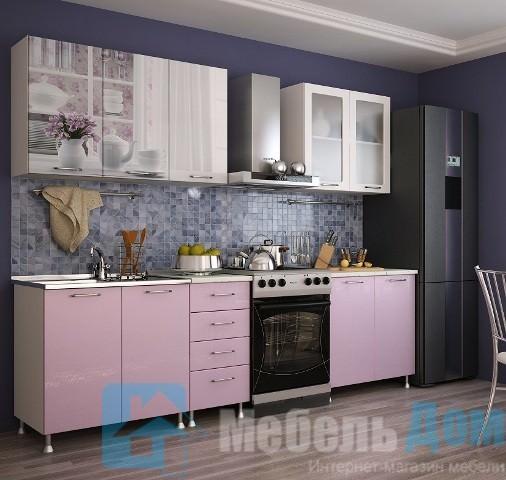 Кухня Утро фотопечать МДФ 2 м   (м)