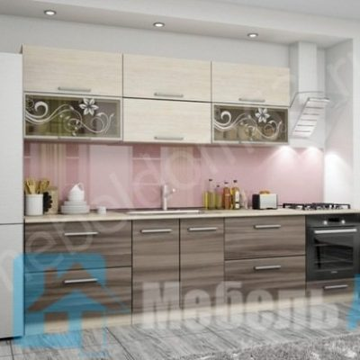 Кухня «Оливия» 3,0 м. вариант 4 (л)