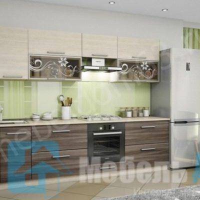 Кухня «Оливия» 3,0 м. вариант 3 (л)