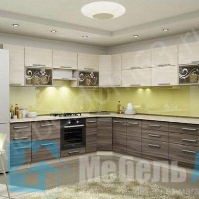 Кухня «Оливия» 2,7 х 3,3 м. вариант 6 (л)
