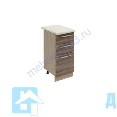 «Оливия» Стол 400 с ящиками (л)