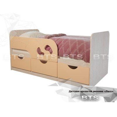 Кровать детская «Минима Лего» Крем (б)