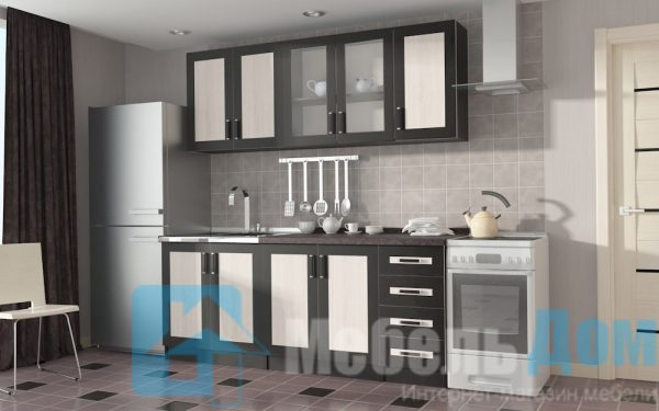Кухонный гарнитур Альба 2 метра (ф)
