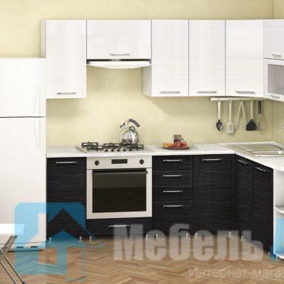 Кухонный гарнитур Жасмин (МДФ) 2400/1700 мм.