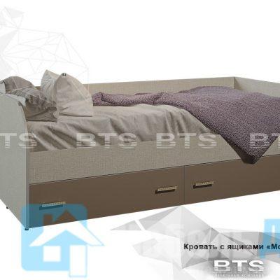 Кровать с ящиками КР-01 «Морис»(б)