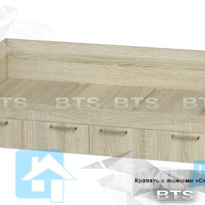 Кровать с ящиками «Сенди» КР-01 (б)