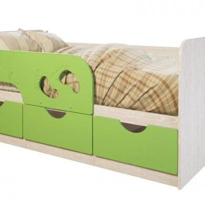 Кровать «Минима Лего» Лайм (б)