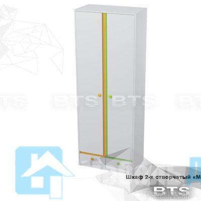 Шкаф 2-х створчатый «Мамба» ШК-15 (б)