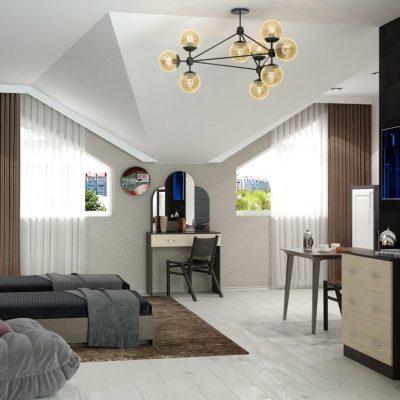 Спальня «Ронда» композиция 1 (иц)