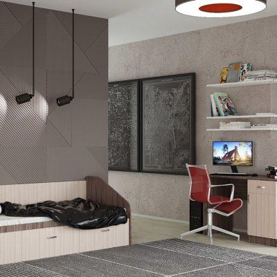 Спальня детская Ронда 4 (иц)