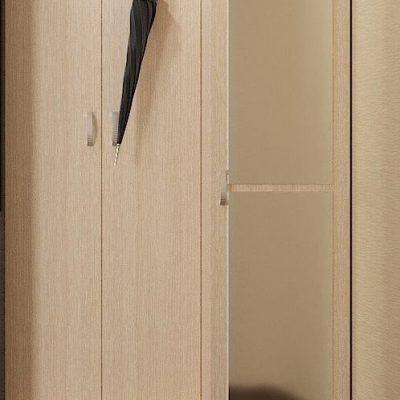 Вешалка с зеркалом «Вега» ВШ-3 (иц)