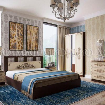 Спальня «Жасмин» композиция 1 (м)
