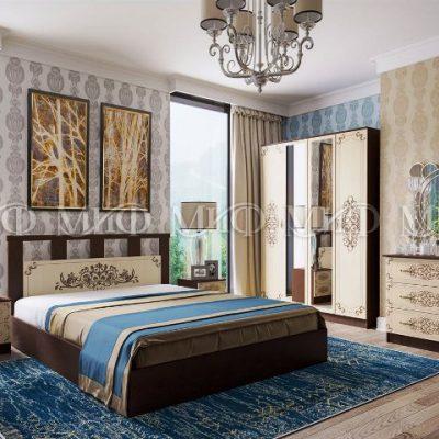 Спальня «Жасмин» композиция 2 (м)