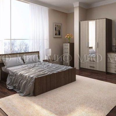 Спальня «Фиеста» композиция 1 (м)