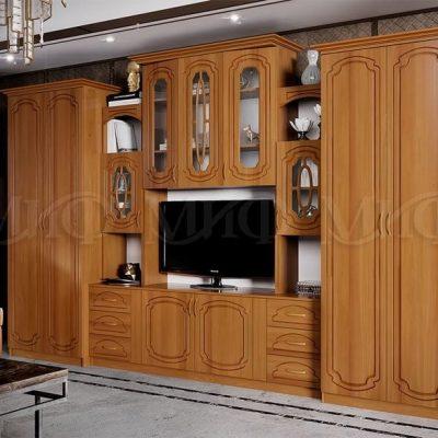 """Гостиная """"Альберт"""" со шкафами (м)"""
