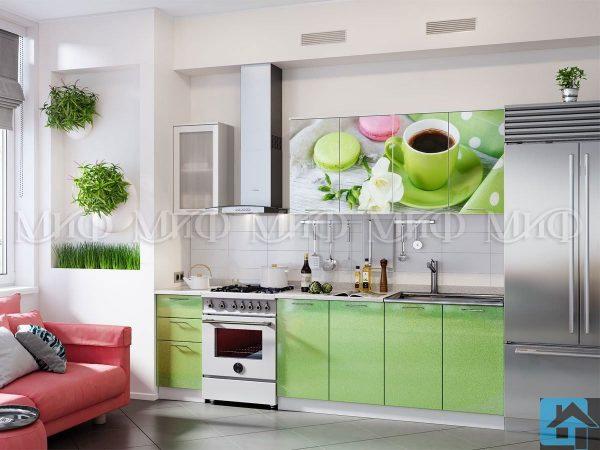 Кухня Десерт фотопечать МДФ 2,0м (м)