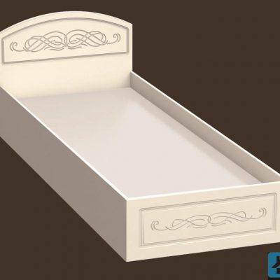 Кровать Венеция 0,8м (иц)
