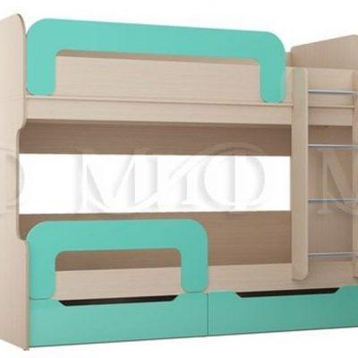 Кровать-чердак «Юниор-1» (м)
