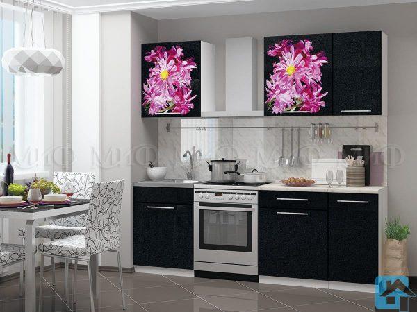 Кухня Астра фотопечать МДФ 1,4м (м)