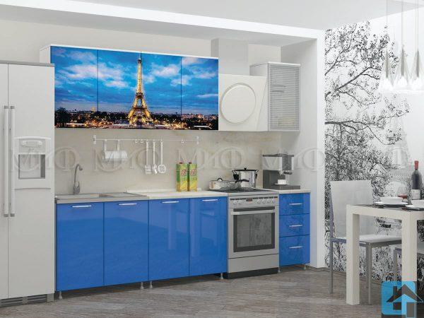 Кухня Париж фотопечать МДФ 2,0м (м)