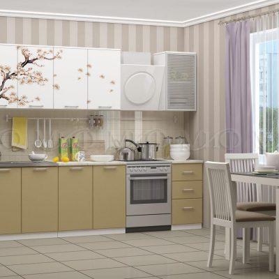 Кухня Сакура фотопечать МДФ 2,0м (м)