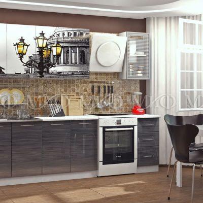 Кухня Санкт-Петербург фотопечать МДФ 2,0м (м)