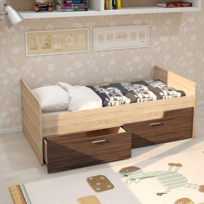 Кровать «Умка»с ящиками ЛДСП (иц)