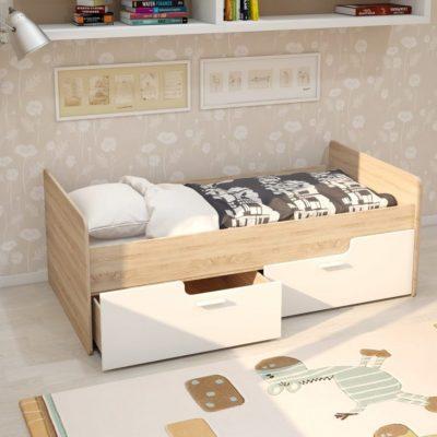 Кровать «Умка»с ящиками МДФ (иц)