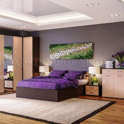 Спальня «Ника» композиция 1 (м)
