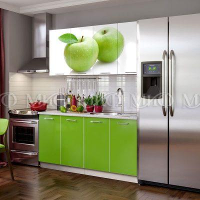 Кухня Яблоко фотопечать ЛДСП 1,6м (м)