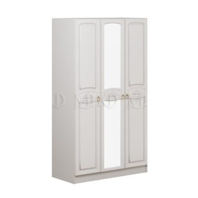 «Александрина» Шкаф 3-х створчатый (м)