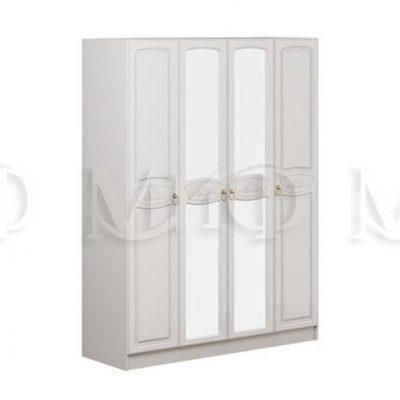 Шкаф 4-х створчатый «Александрина» (м)