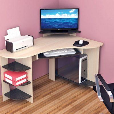Стол компьютерный Грета-5 угловой (т)