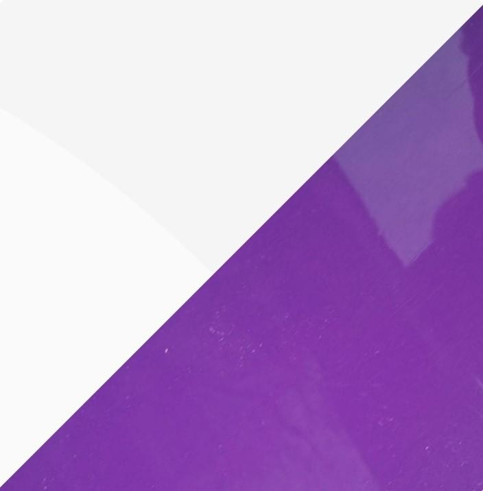 Белый глянец/Фиолетовый глянец