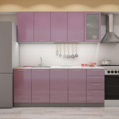 Кухня «Олива» МДФ 2,0 м. (иц)