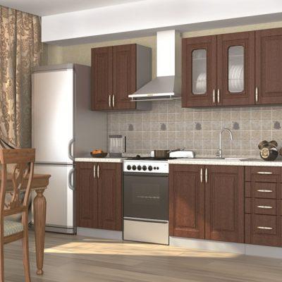 Кухонный гарнитур 2,20 м «Верона» (иц)