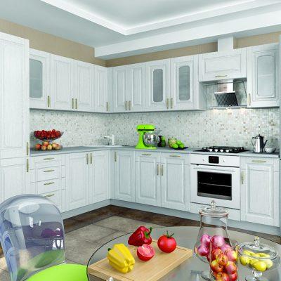 Кухонный гарнитур угловой 2,6*2,8 м «Верона» (иц)