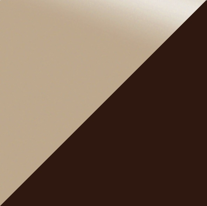 Кофе с молоком глянец/Шоколад глянец,