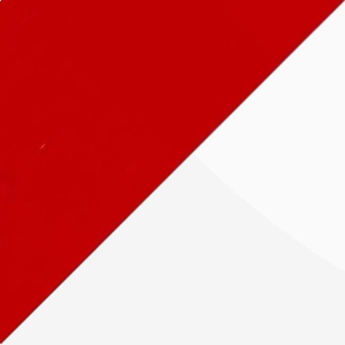 Рубин глянец/Белый глянец